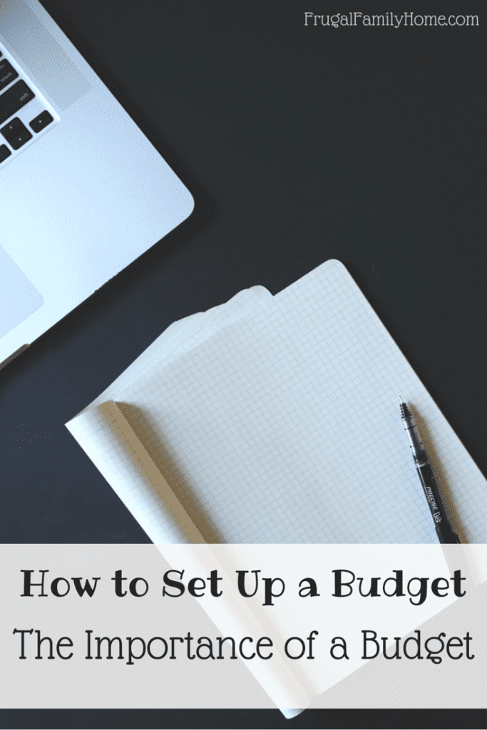 Why having a budget is so important.