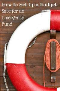 How to set up a Budget..Emergency Fund