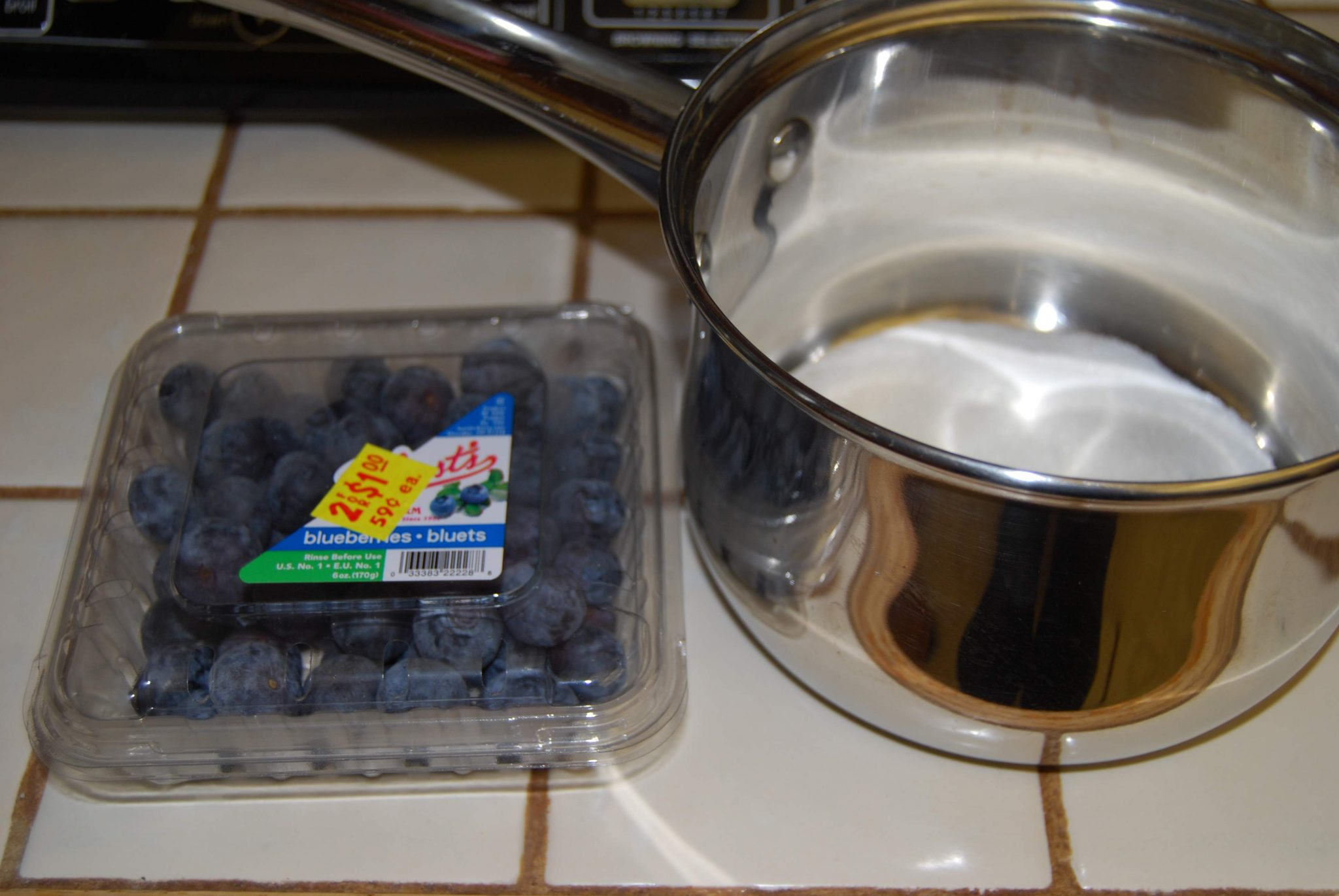 Easy Blueberry Sauce