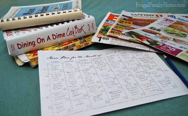 What a great tutorial on getting started with making a menu plan for a month. It was really helpful for me.