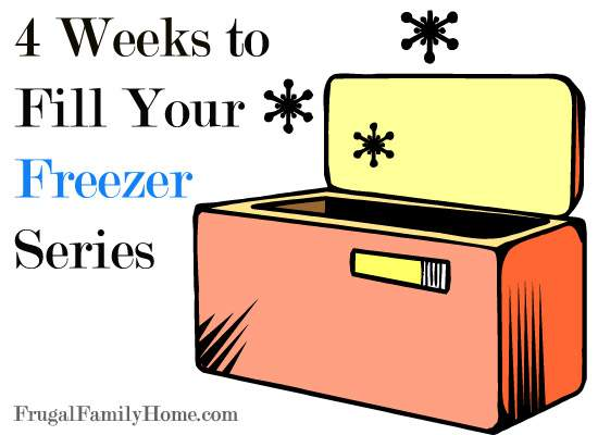 4 Weeks of Freezer Friendly Recipes