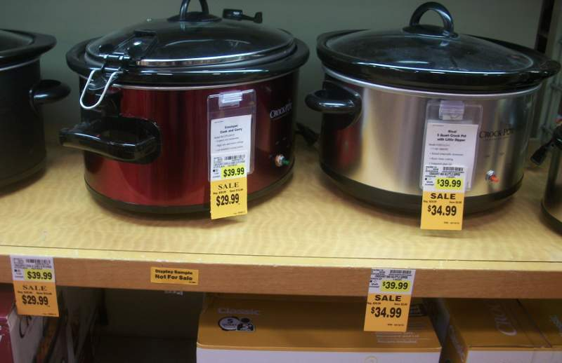 Fred Meyer Crock Pot and Canning Supplies Sale