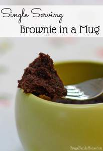 Easy to make mug recipe for brownies. So good and portioned controlled too.