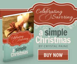 Celebrating and Savoring a Simple Christmas eBook Sale and Giveaway