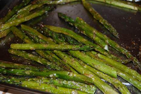 Simple Side Dish, Roasted Asparagus