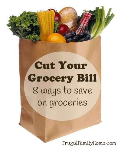 Cut Your Grocery Bill Banner