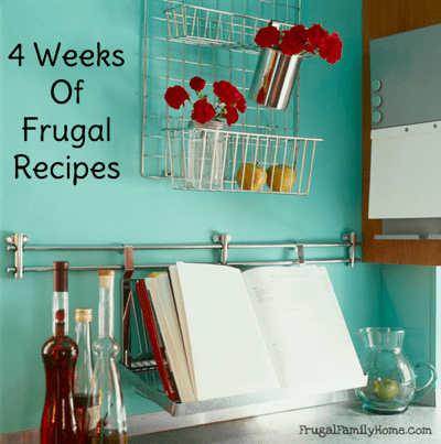 20 Frugal Recipes to help keep your grocery budget in check, Frugal Family Home
