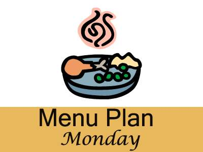 Our menu plan for this week