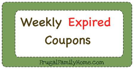 Weekly Expiring Couons