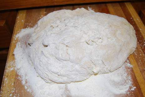 Before kneading