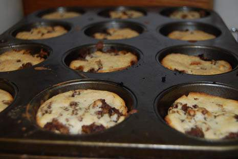 Cheeseburger Muffin Baked
