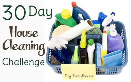 30 Day House Cleaning Banner