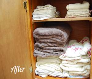 After Towel Cupboard