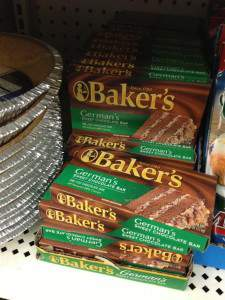 BAkers Chocolate DT