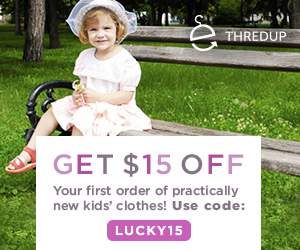 ThredUP  $15 off Your First Order