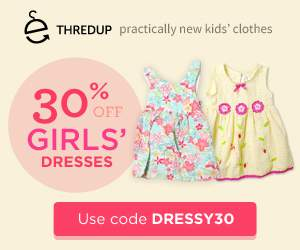 30% off Girls' Dresses at Thred Up