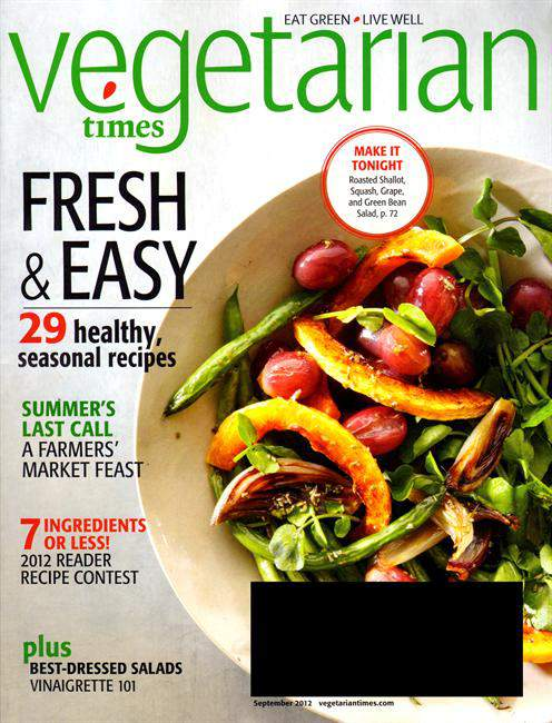 Vegetarian Times Magazine for $5.50 a Year