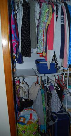Daughter's Closet #1 after