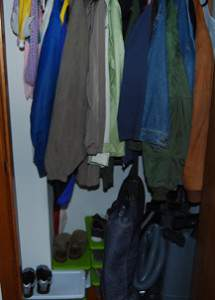 Entry Closet After