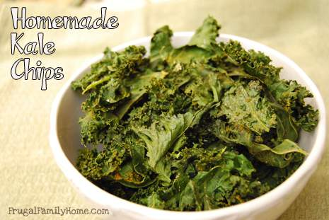 Kale Chips, A Good For You Snack Recipe