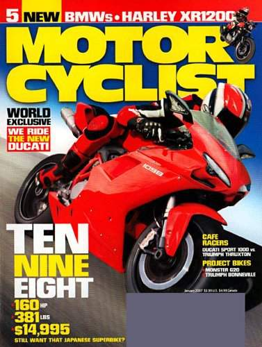 Motorcyclist Magazine just $3.99 a Year