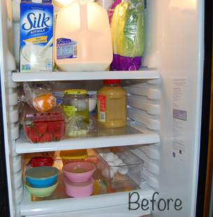 Refrigerator Before