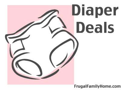 Diaper Deals For This Week