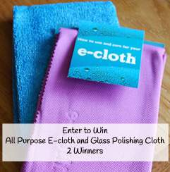 Review and Giveaway, E-Cloths Cleaning Cloths