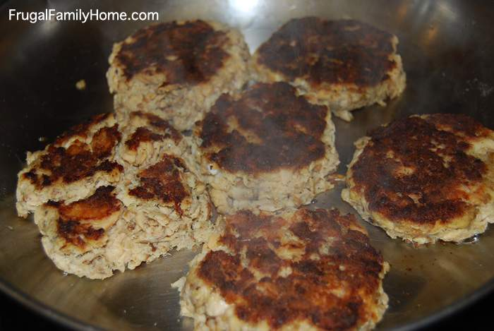 Salmon Patties, A Simple Dinner Recipe