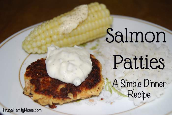 Salmon Patties Banner