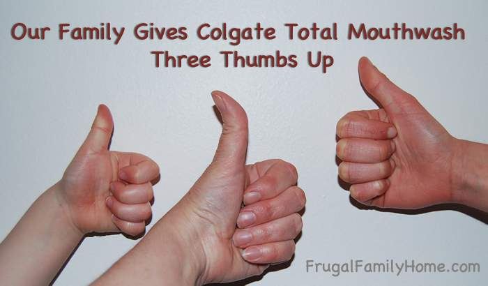 Thumbs Up for Colgate
