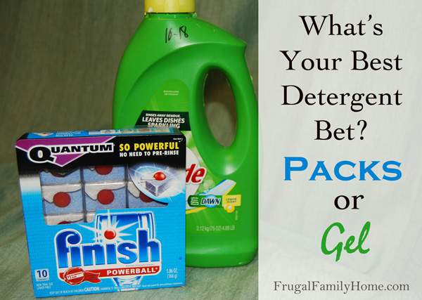 What's the Best Buy for Dishwashing Detergent?
