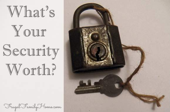 What's Your Security Worth?