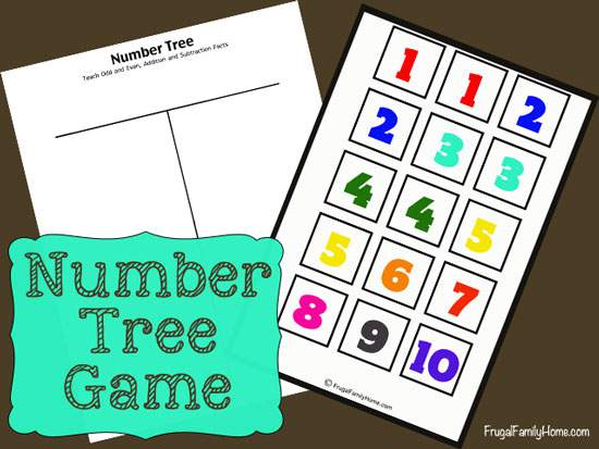 Free Number Tree Game