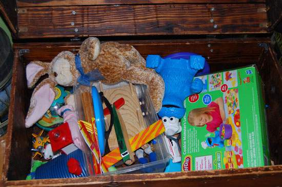 Toy Box Before