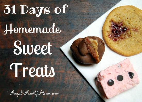 31 Days of Homemade Sweet Treats