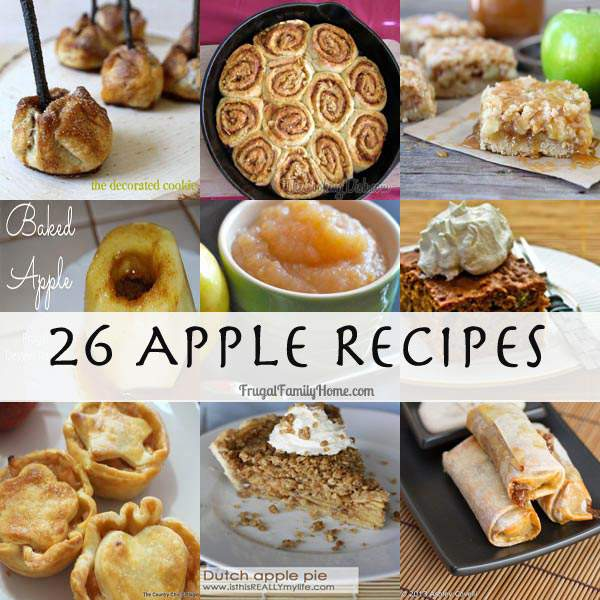 26 Yummy Apple Recipes