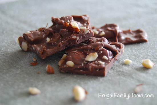 Homemade Sweet Treats, Almond Bark
