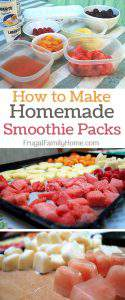 Make it from Scratch…Freezer Smoothie Packages
