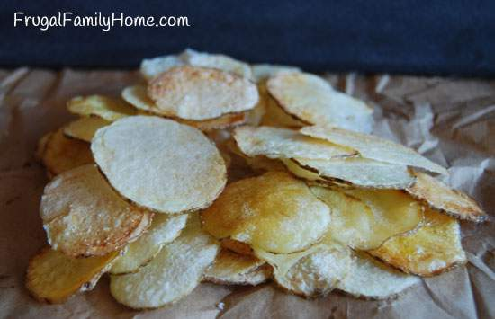 Make it from Scratch Challenge..Homemade Potato Chips