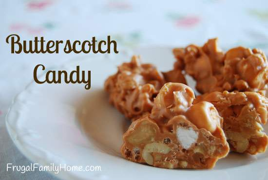 Butterscotch Candy