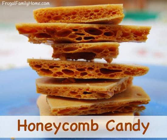 Homemade Sweet Treats, Honeycomb Candy