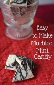 Homemade Sweet Treat, Marbled Mint Candy