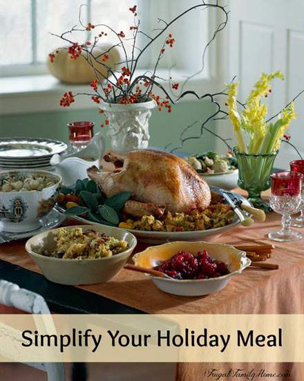Holiday Meal Simplified