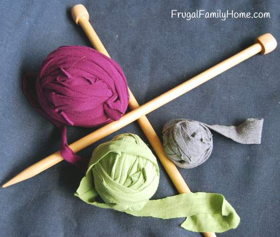 Frugal Photo Friday, Coupons and T-shirt Yarn
