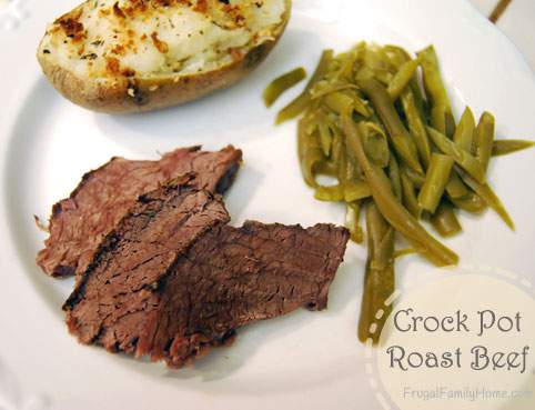 Easy Crock Pot Beef Roast