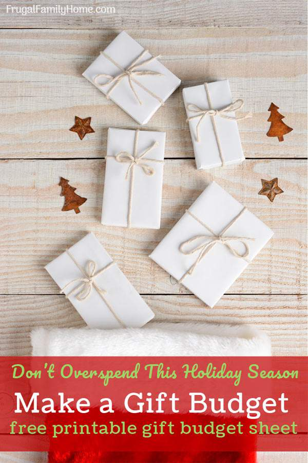 Don't let this year festive atmosphere turn into a new year credit card nightmare, instead set a budget now for your Christmas spending. With tips for making the most of your holiday gift dollars and a printable budget sheet too.