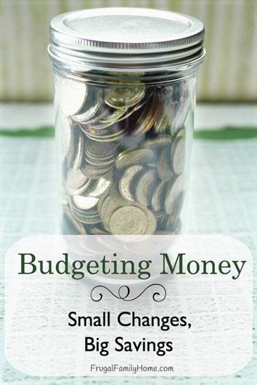 Budgeting Money Change Ideas