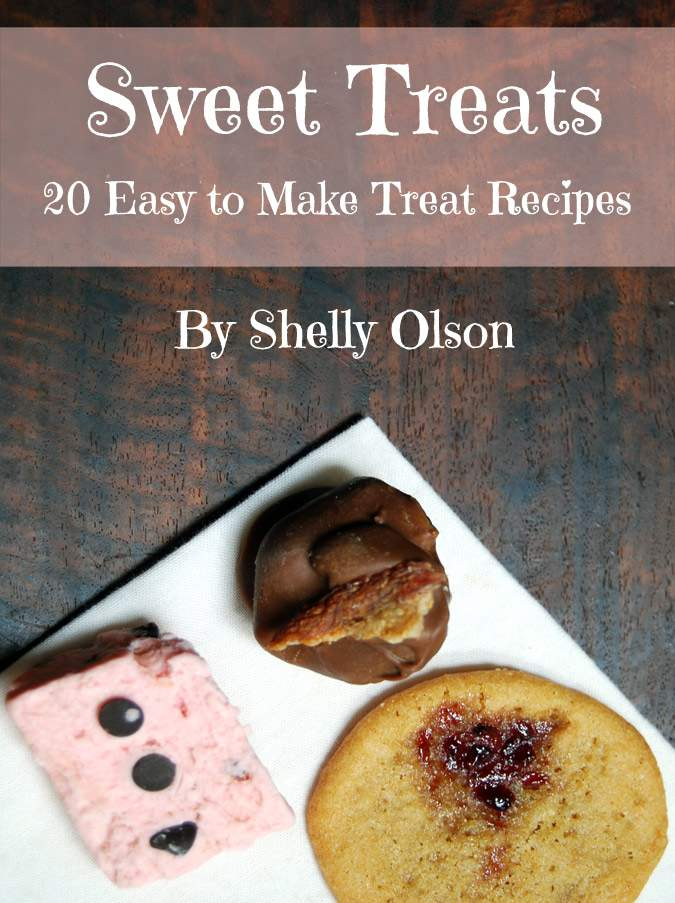 Sweet Treat recipes to give to family and friends. This ebook has 20 easy to make candy and cookie recipes that you can give as gifts at Christmas or any time of the year. Come see how you can get it for free.