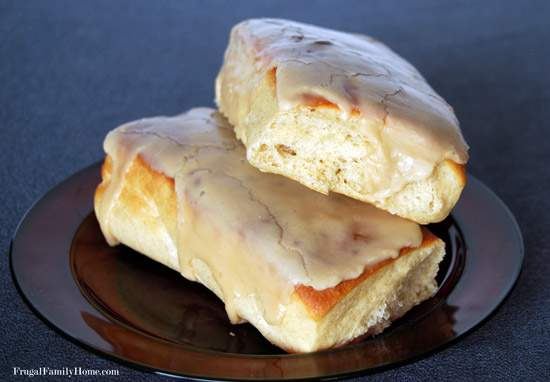 Baked Maple Bars Recipe